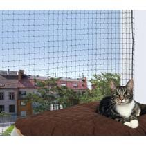 Kattennet 4 x 3 M zwart