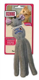 kong  kattenspeeltjes Wubba Muis Assorti 20 cm