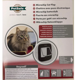 Petsafe  Microchip kattenluik  bruin
