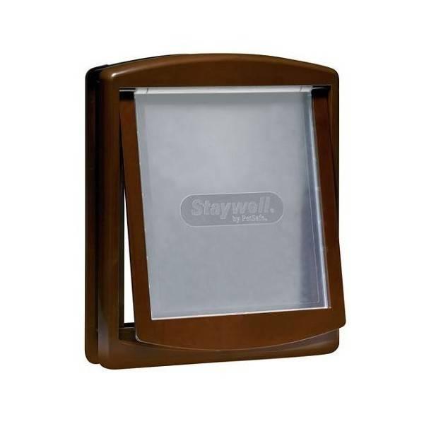 Petsafe  Staywell huisdierluik medium bruin 755