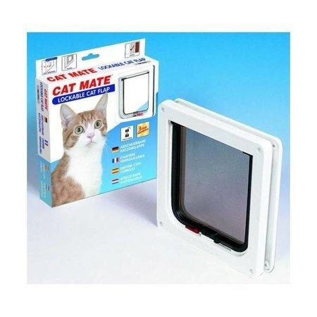 Catmate Kattenluik  2 standen voor dunne deuren, panelen en wanden