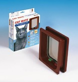 Catmate Kattenluik 4 standen voor dikke deuren, panelen en muren wit