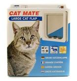 Catmate kattenluik  voor grote katten wit 221