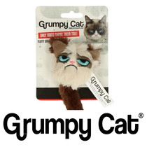 Fluffy Grumpy Cat Toy