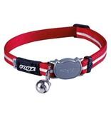 Rogz beltz AlleyCat Halsband Small Red