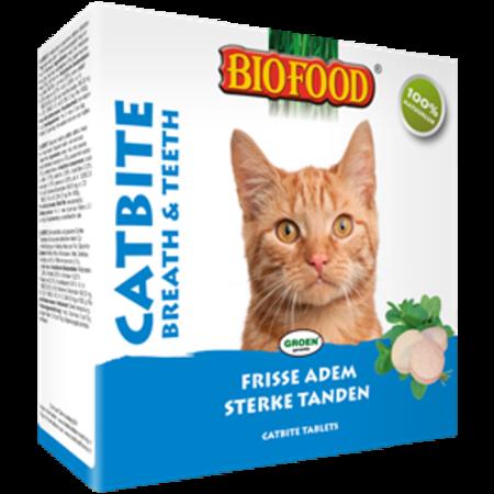 Biofood Catbite frisse adem en sterke tanden snoepjes voor de kat