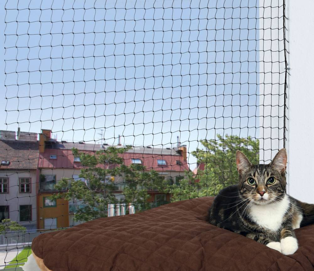 Trixie Kattennet met Draadversterking 4 x 3 meter