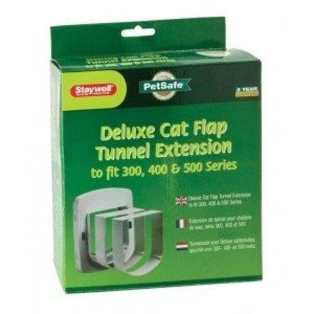 Petsafe  Tunnelstuk kattenluik deluxe grijs
