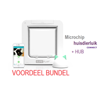 Microchip Huisdierluik Connect Bundel