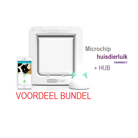 Sureflap Microchip Huisdierluik Connect Bundel