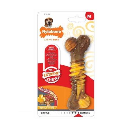 Nylabone Power Chew Cheese & steak  maat M