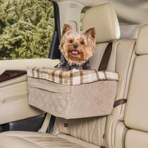 Booster Seat Hondenautostoel   Large tan