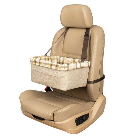 Happy Ride Booster Seat Hondenautostoel  Large tan