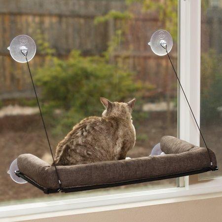 KH Katten mandje met ondersteuning voor raam