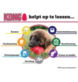 kong Speeltje classic small rood