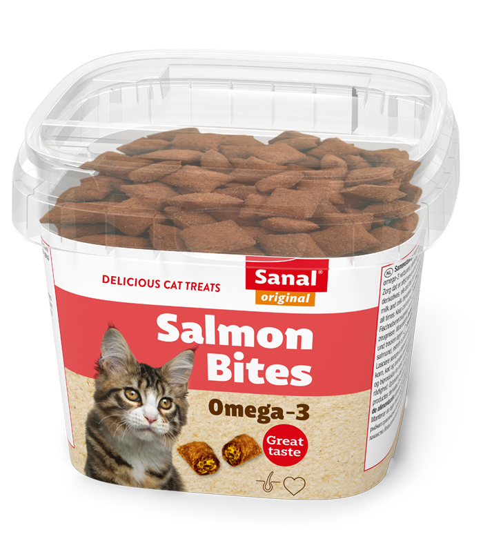 Sanal Salmon Bites in cup