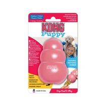 Speeltje pup medium blauw of roze