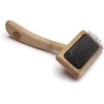 Bamboo Soft Pin Slicker - Small