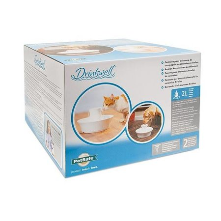 Petsafe  Katten drinkfontein Drinkwell Avalon ceramic