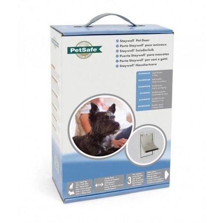 Petsafe  Staywell kattenluik 600 aluminium tot 7 kg