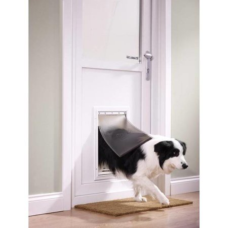 Petsafe  Staywell kattenluik 640 aluminium tot 45 kg