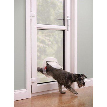 Petsafe  Staywell kattenluik 270 geschikt voor glaze en houten deuren transparant