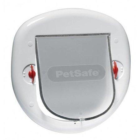 Petsafe  Staywell kattenluik 280 geschikt voor glazen en houten deuren wit