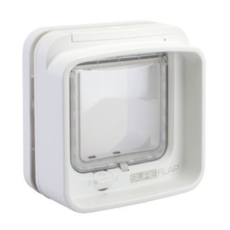 Sureflap Dualscan kattenluik wit