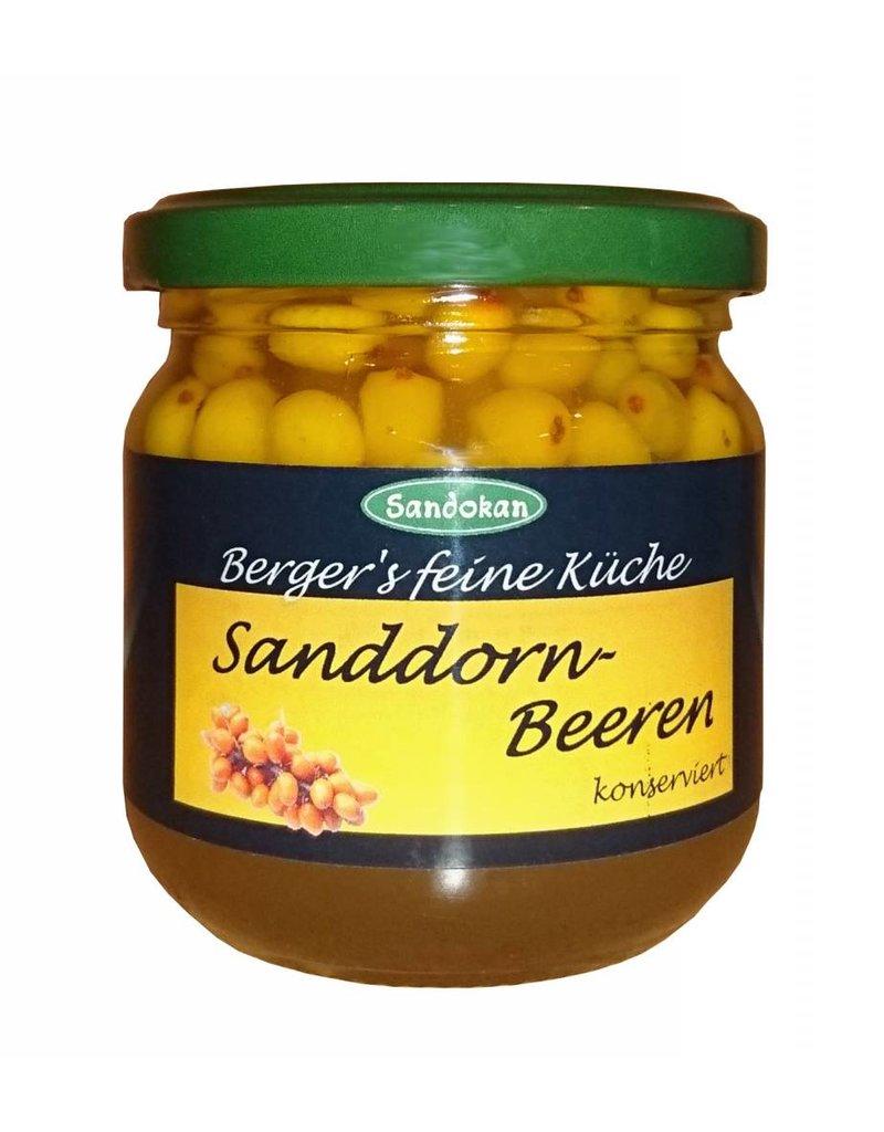 Sandokan Sanddornbeeren konserviert 185g