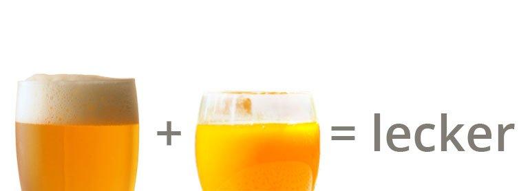 Sofort fertig und fruchtig-lecker: Sanddorn-Weizenbier-Mixgetränk