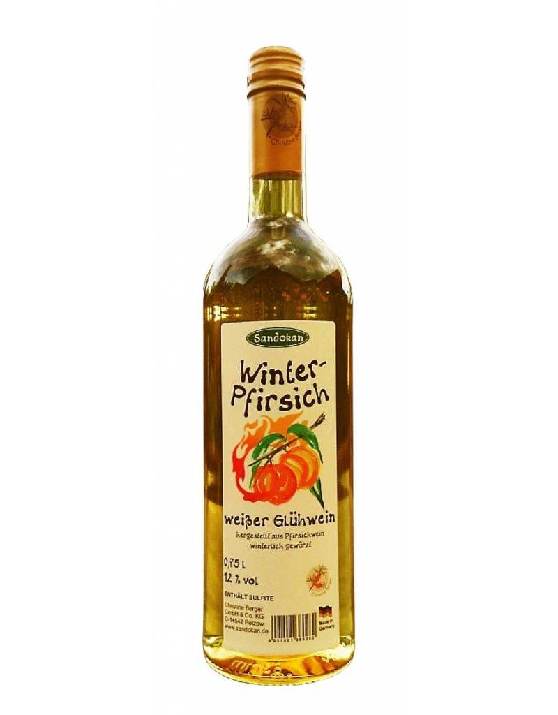 Sandokan Winter-Pfirsich Wein 0,75 l