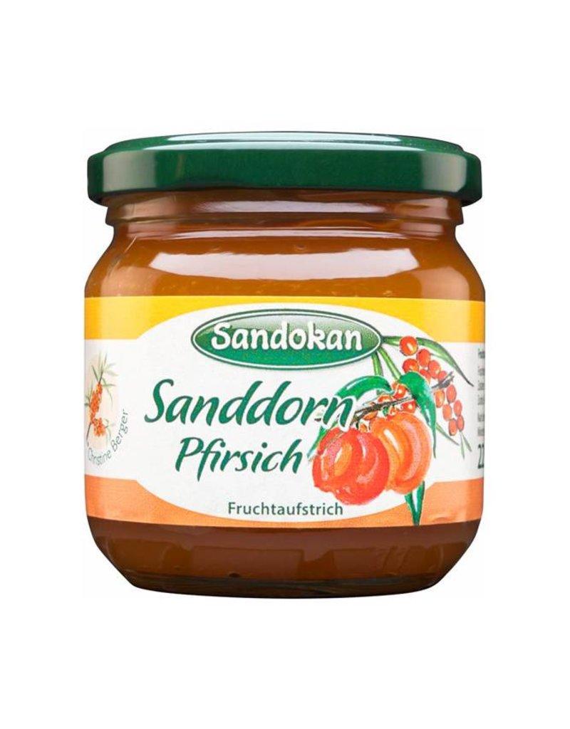 Sandokan Fruchtaufstrich Sanddorn Pfirsich 225 g