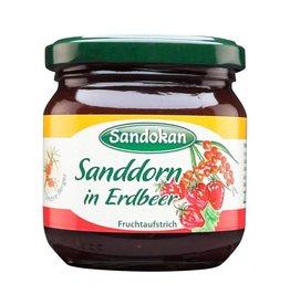 Sandokan Sanddorn in Erdbeere