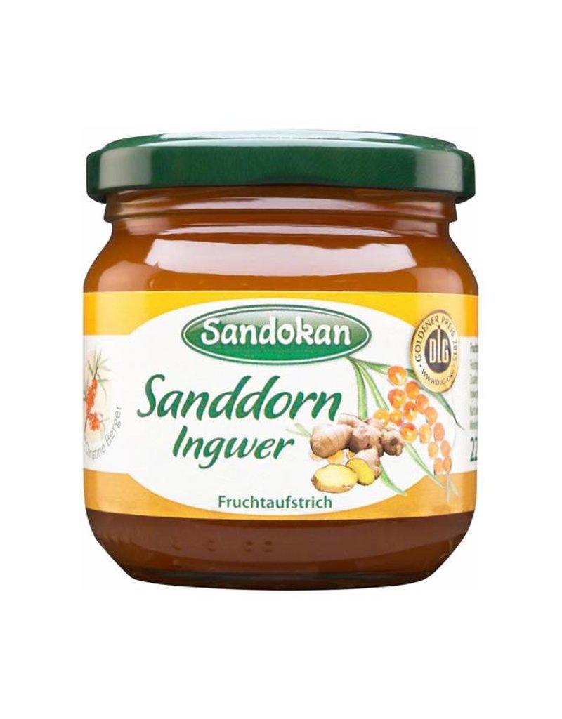 Sandokan Fruchtaufstrich Sanddorn Ingwer 225 g