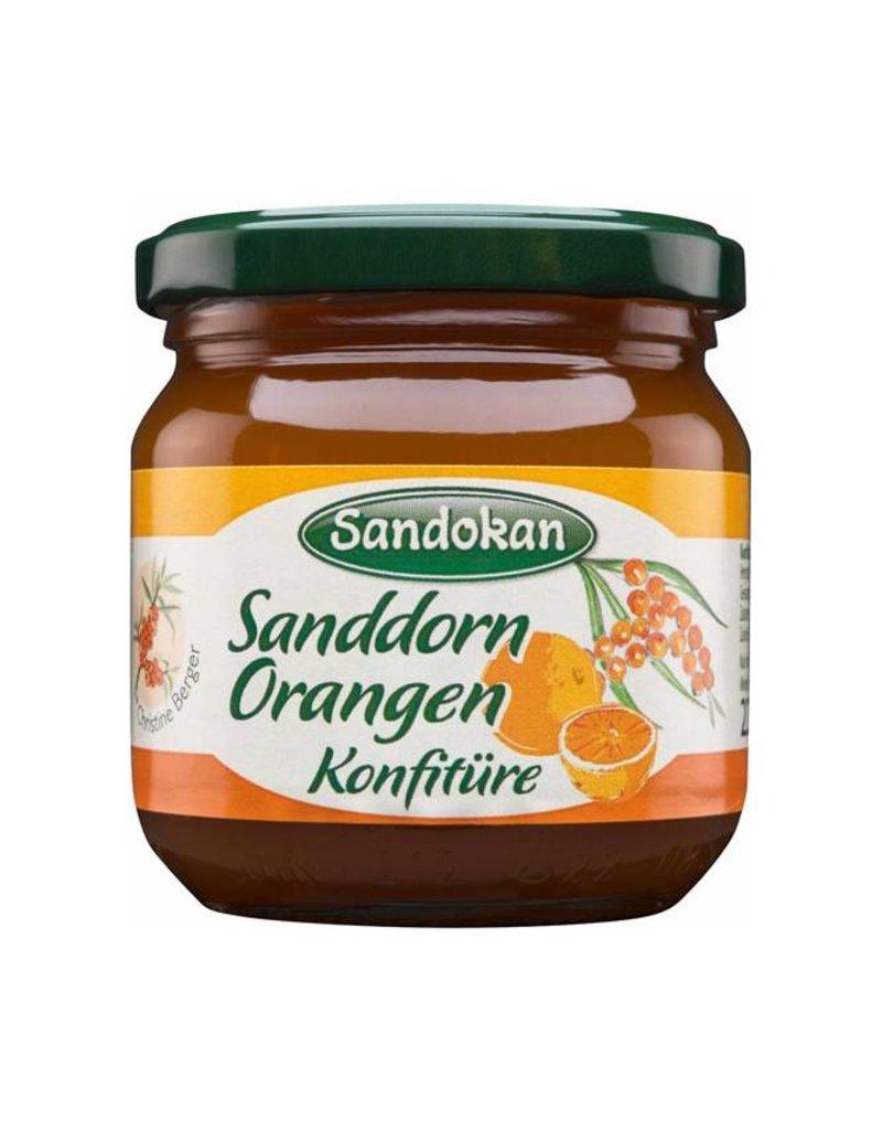 Sandokan Sanddorn-Orangen-Konfitüre 225 g
