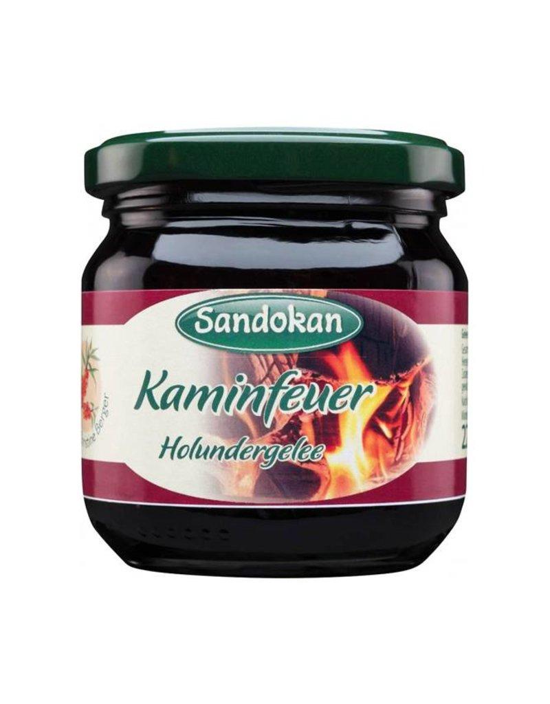 Sandokan Kaminfeuer Holundergelee 225 g