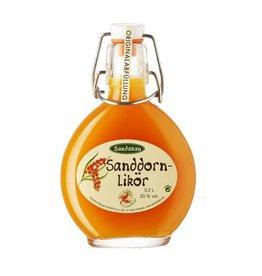 Sandokan Sanddornlikör 0,2L Taschenflasche