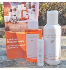 Christine Berger Sanddorn-Kosmetik-Set