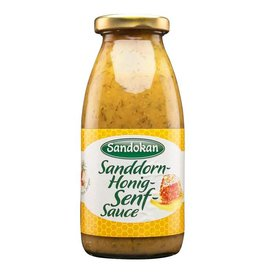 Sandokan Sanddorn-Honig-Senf Sauce