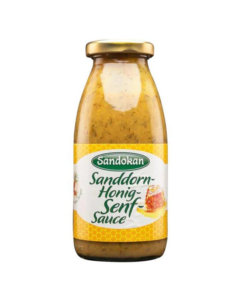Sandokan Sanddorn-Honig-Senf Sauce - ein fruchtig-herzhafter Genuss 250 ml