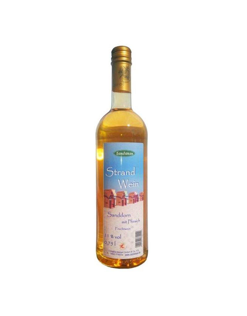 Sandokan Strandwein - Sanddornwein mit Pfirsich 0,75 l