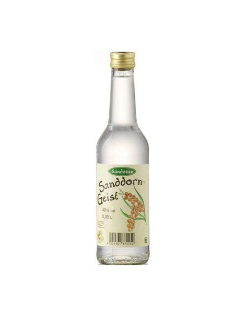 Sandokan Geist aus Sanddorn 0,35L Gradhalsflasche