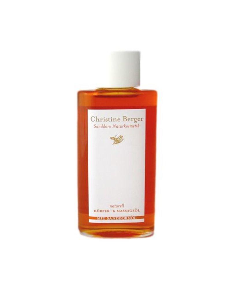 Christine Berger Sanddorn-Körper- und Massageöl 100 ml