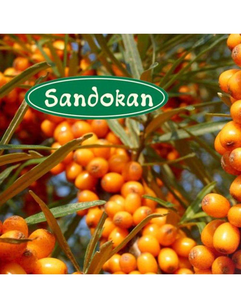 Sandokan BIO-Sanddorn-Saft direkt gepresst (Direktsaft, Muttersaft)  100 % 0,33L