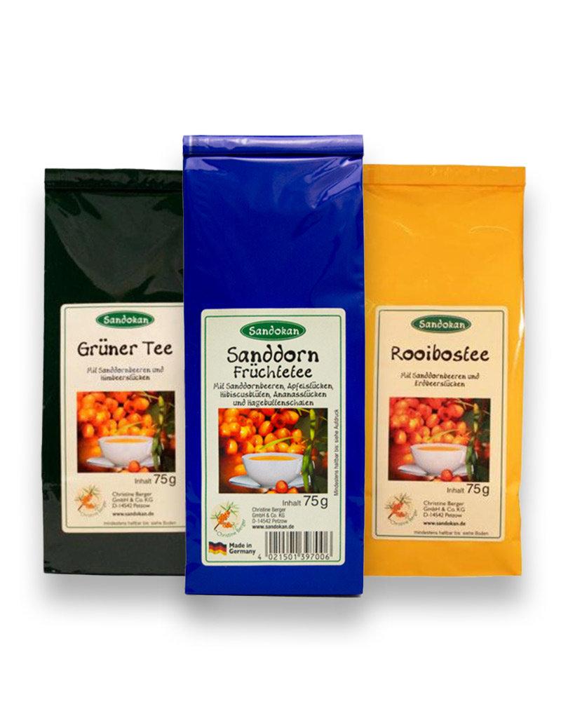 Sanddorn-Tee-Sparset: 3 leckere Tees mit Sanddorn