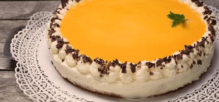 Rezept-Tipp: Sanddorn-Eierlikör-Torte