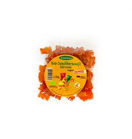 Sandokan Vegane BIO-Sanddornsaft Bärchen (Fruchtgummis) - gelantinefrei