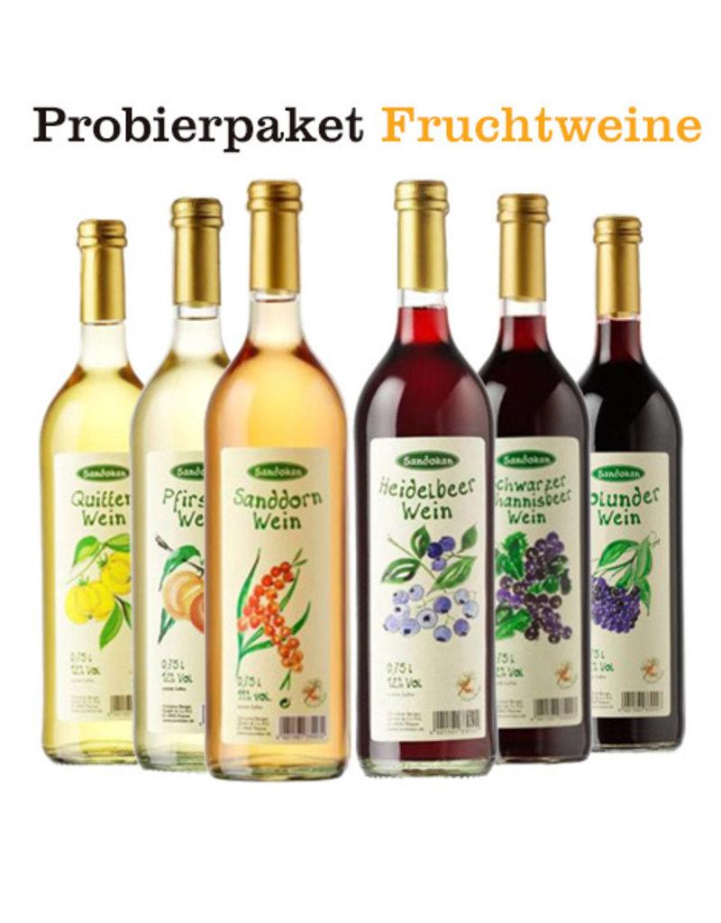 6er Probier- & Sparpaket Fruchtweine