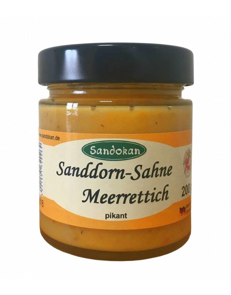 Sandokan Sanddorn-Sahne-Meerrettich - herzhaft & lecker