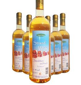 Sandokan 6 Flaschen Strandwein 0,75 l